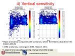 4 vertical sensitivity