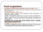 fonti legislative