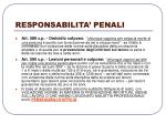 responsabilita penali