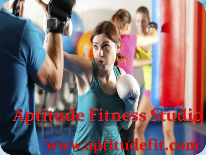 aptitude fitness studio n.