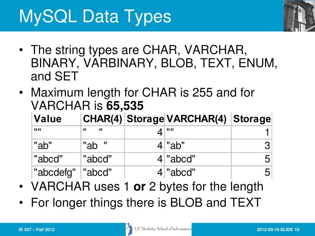 PPT - Physical Database Design and Referential Integrity