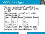 mysql data types2