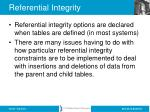 referential integrity1