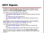 8251 signals