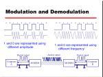 modulation and demodulation1
