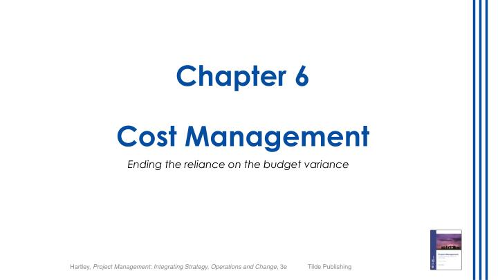 chapter 6 cost management n.