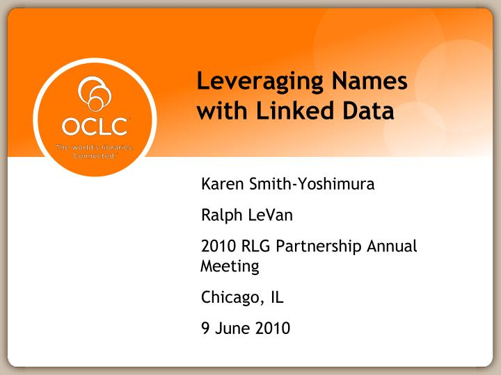 leveraging names with linked data n.
