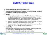 cmip5 task force