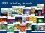 rsc publishing journals
