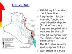 iraq vs iran