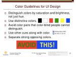 color guidelines for ui design