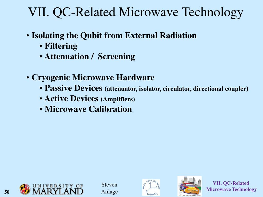 PPT - Basics of RF Superconductivity and QC-Related