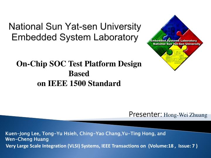 national sun yat sen university embedded system laboratory n.