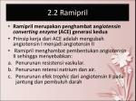 2 2 ramipril