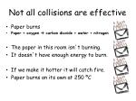not all collisions are effective