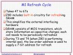 m1 refresh cycle