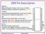z80 pin description1