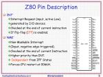 z80 pin description2