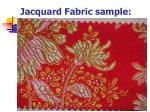 jacquard fabric sample1