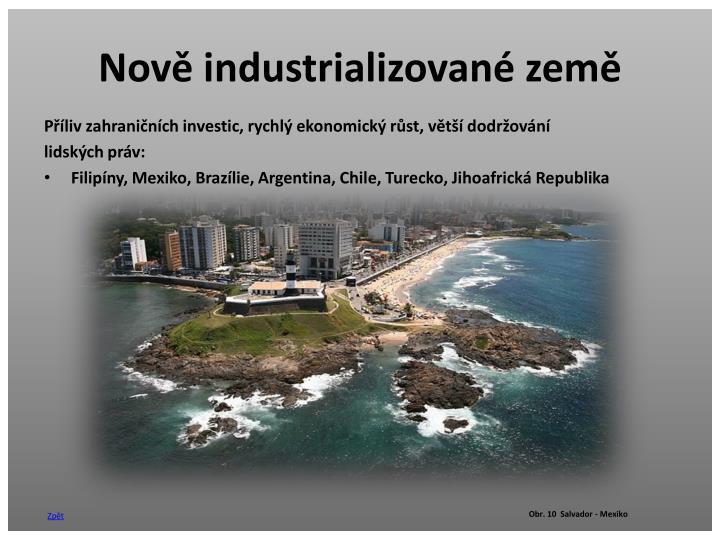 Nově industrializované