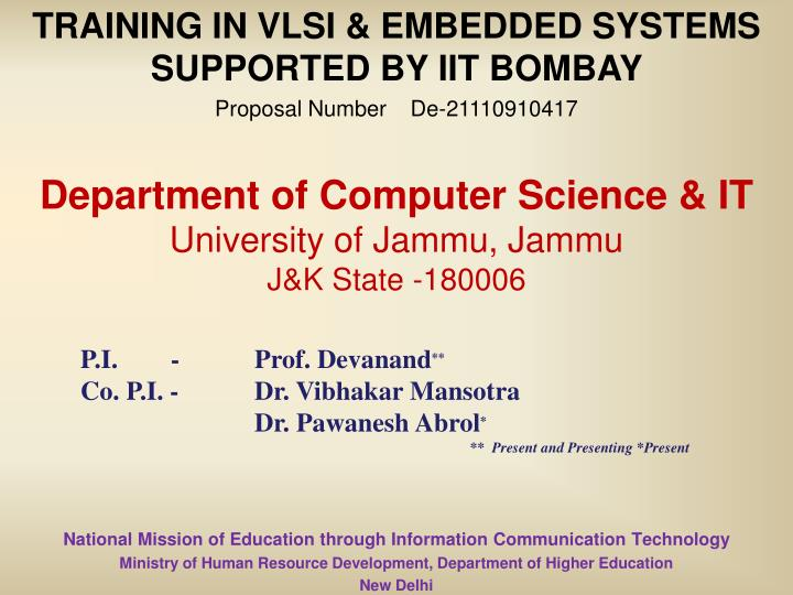 department of computer science it university of jammu jammu j k state 180006 n.