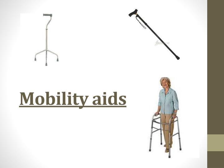 mobility aids n.