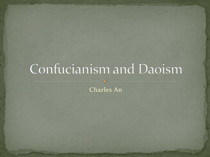 confucianism and daoism n.