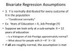 bivariate regression assumptions1