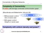 connectivity in wireless networks4