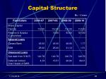 capital structure1
