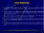 line capacity