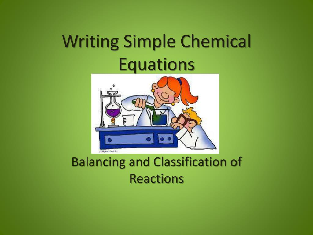 ppt - writing simple chemical equations powerpoint presentation - id