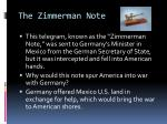 the zimmerman note1
