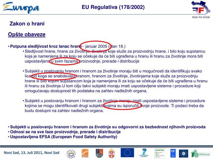 EU Regulativa