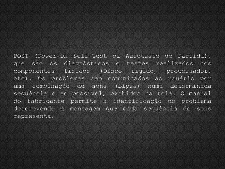 POST (Power-