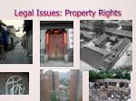 legal issues property rights