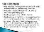 top command