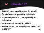 obsah 1 2