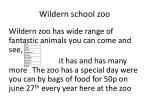 wildern school zoo