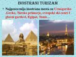 inostrani turizam