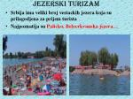 jezerski turizam