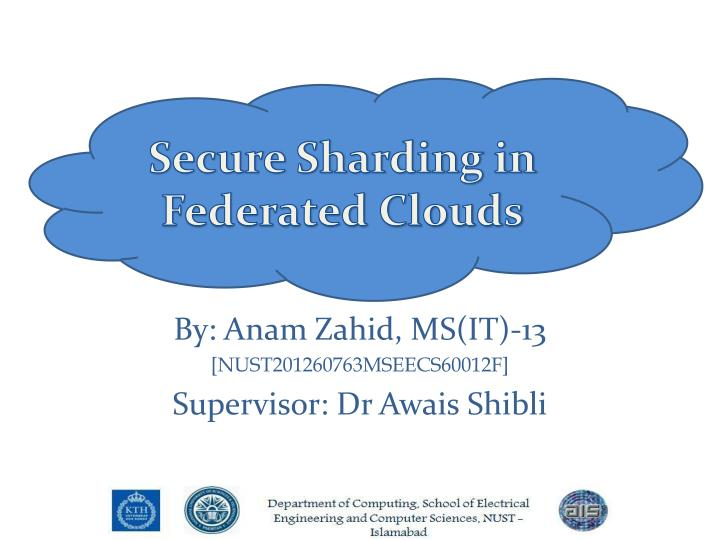 by anam zahid ms it 13 nust201260763mseecs60012f supervisor dr awais shibli n.