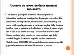 licencia de importaci n de material radiactivo