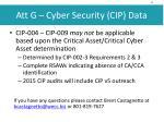 att g cyber security cip data