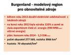 burgenland modelov region pro obnoviteln zdroje