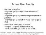 action plan results