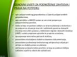 osnovni uvjeti za podno enje zahtjeva i prava na potporu