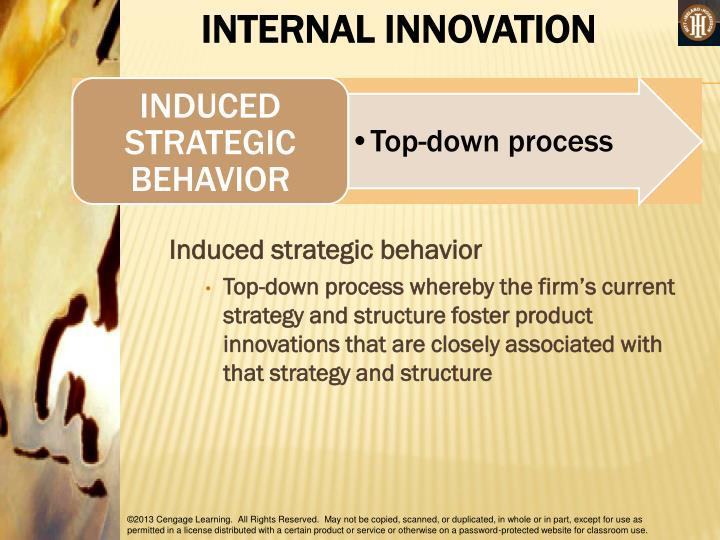 INTERNAL INNOVATION