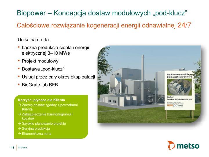 Biopower –