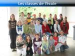 les classes de l cole3